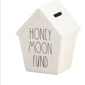 "Rae Dunn ""HONEYMOON FUND"" Money Bank"